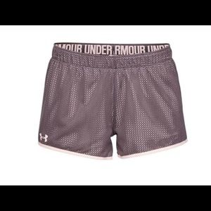 Women's Under Armour Reversible PlayUp Mesh Shorts